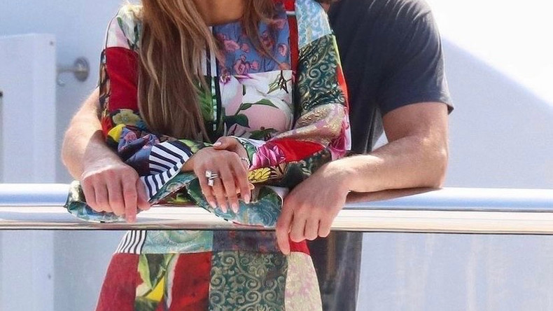 Дженнифер Лопес и Бен Аффлек в Лос-Анджелесе