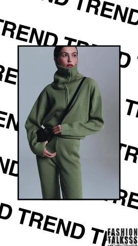 Trend: вязаный костюм ELENAREVA