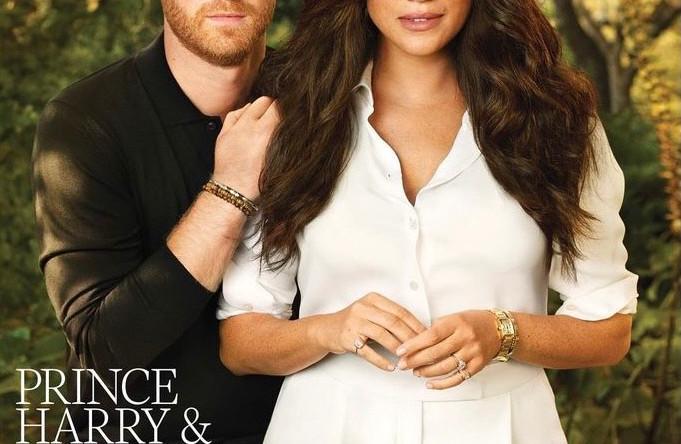 Принц Гарри и Меган Маркл на обложке Time