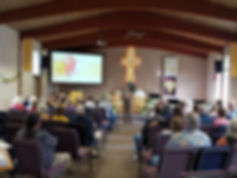 Inspiring Worship at Peace Lutheran Church.