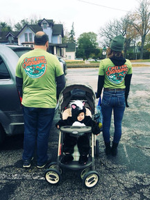 A family of supporters!
