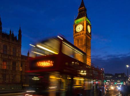 Londres, faça chuva ou muita chuva...