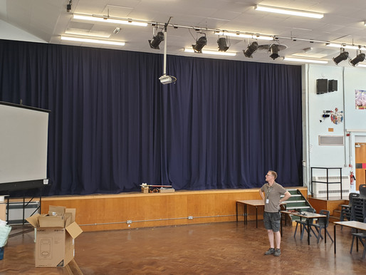 St Mary Redcliffe and Temple School - Main hall sound system