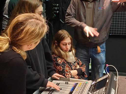 Bristol Old Vic Theatre School - Live musician workshop