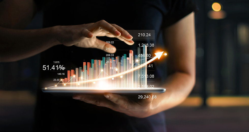 businessman-holding-tablet-showing-growing-virtual-hologram-statistics-graph-chart-with-ar