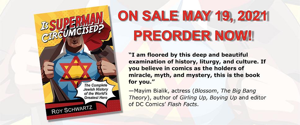 Is Superman Circumcised? preorder