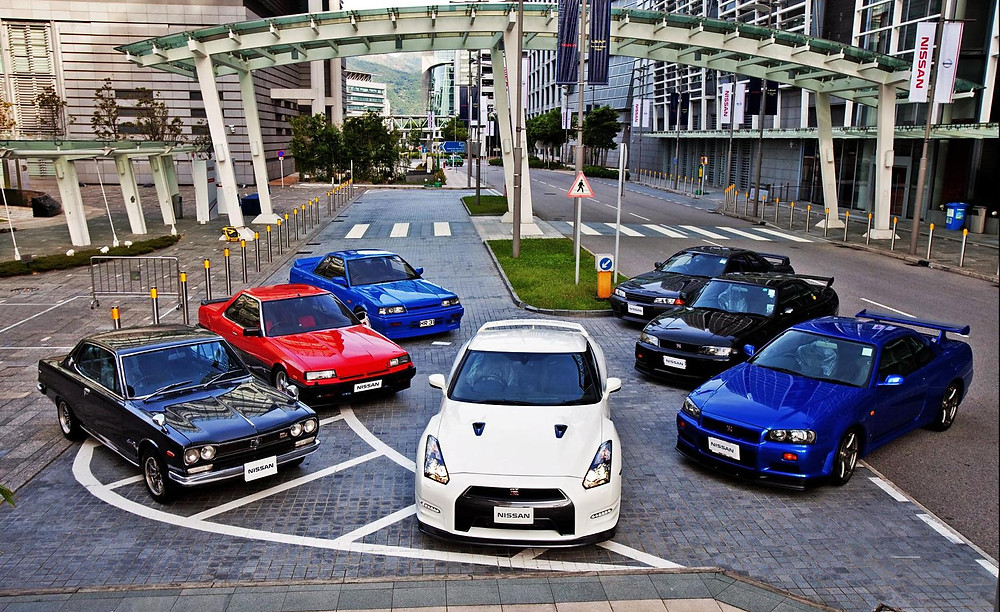 Nissan Skyline Family