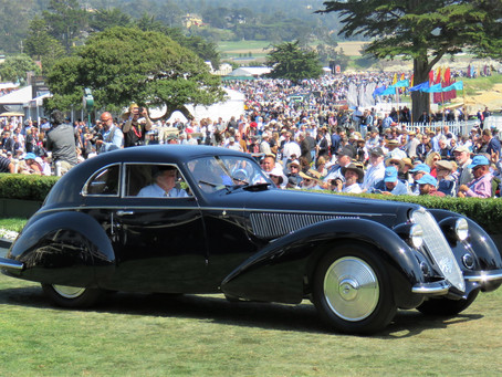 The Must-See, Drop-dead-Gorgeous Cars from the 2019 Pebble Beach concours d'Elegance