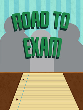Road to Exam front screen