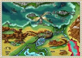 Orphic World Map