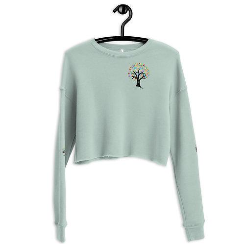 Shrine Crop Sweatshirt