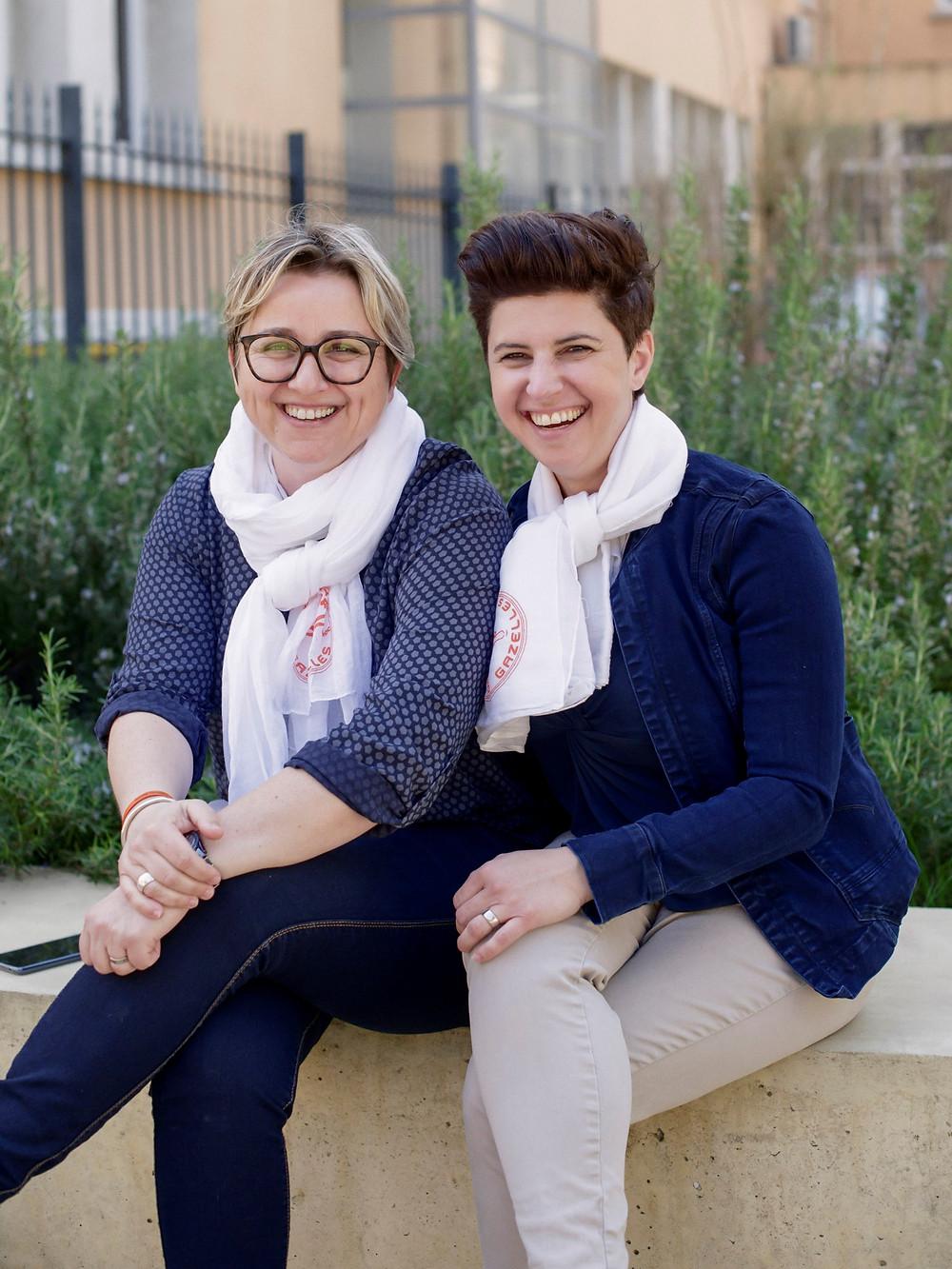Florence Cartier et Agnès Maccioni, deux gazelles engagées