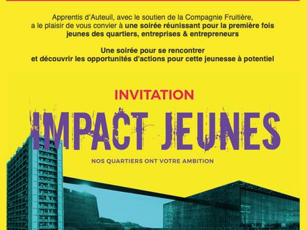 Soirée Impact Jeunes : 25/06 au Mucem !