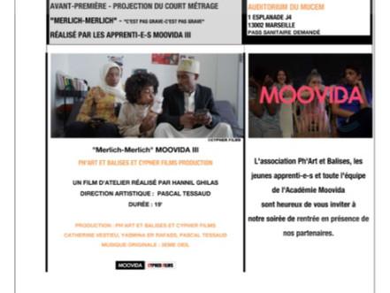 L'académie de jeunes acteurs Moovida