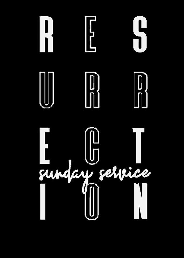 Ressurection Sunday 2021 - Flyer Front-0
