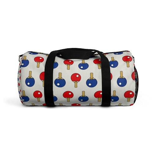 RED & BLUE DUFFEL BAG