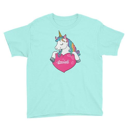 UNICORN & HEART  t-shirt