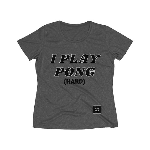 PLAY PONG WOMEN'S Sri-Fit t-shirt