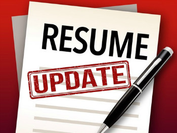 Resume Update | Update Service For Prior Resume Customers Only