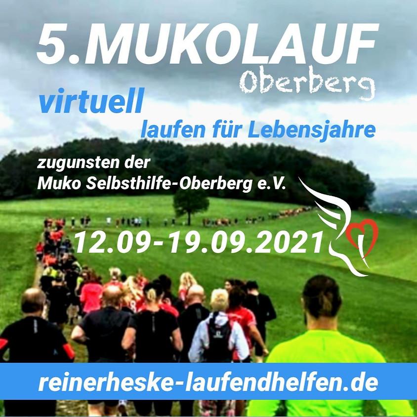 Mukolauf Oberberg 2021 / virtuell