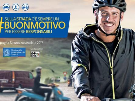 Regalo di Natale in onore della sicurezza stradale! Francesco Gabbani testimonial della nuova campag
