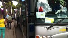 Coldiretti trasportati oltre 2500 passeggeri in un giorno in occasione del tour Le Raegioni Del Cuor