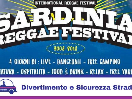 Sardinia Reggae Festival confermata collaborazione con GuidaBoh ® per il Divertimento in Sicurezza d