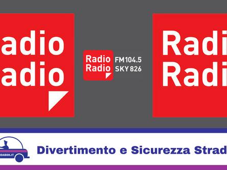 Radio Radio parla di GuidaBoh ® per la sicurezza stradale e il divertimento notturno e diurno