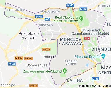 מפת השקעות מדריד