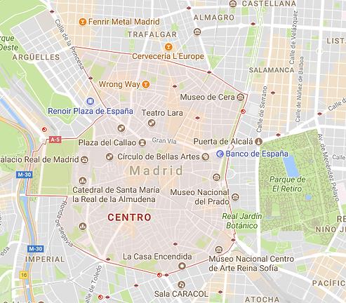 השקעה דיירת תיירות במדריד