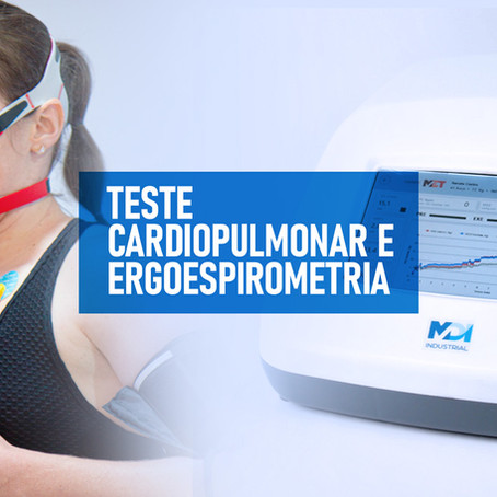 Teste Cardiopulmonar e Ergoespirometria