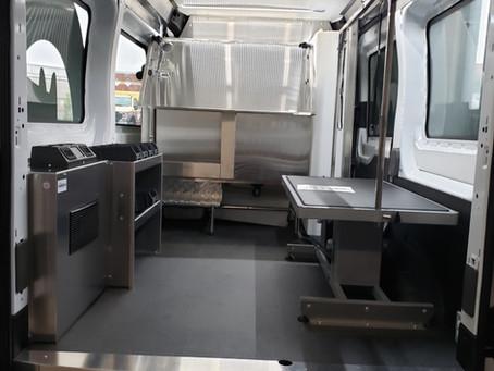 Mobile Pet Grooming Van Conversion