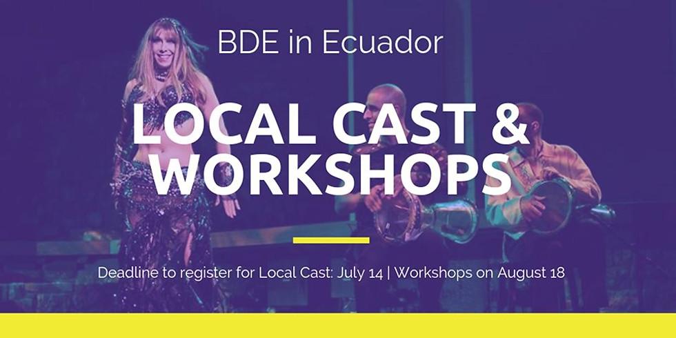 BDE in Ecuador: Workshops