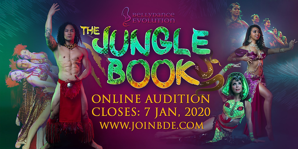 BDE's The Jungle Book in Europe: Online Audition