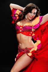 Jillina in Red