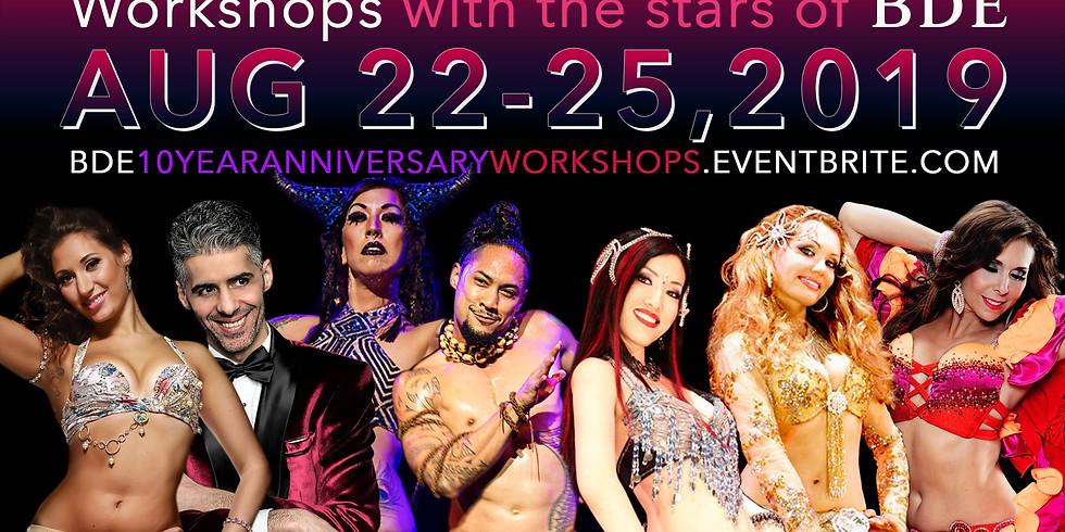 10 Year Anniversary Workshops