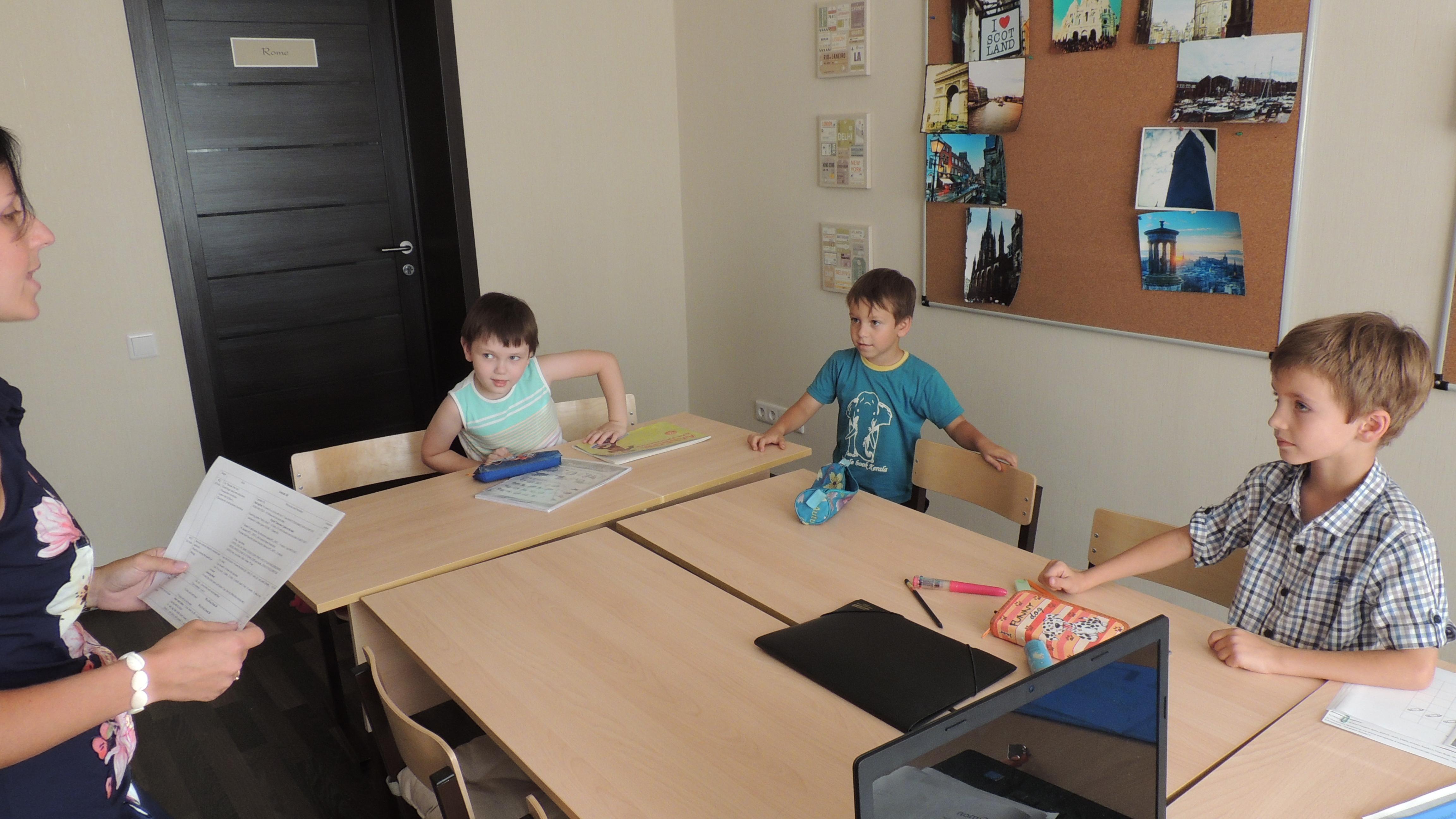 Детская группа английского, 5-7 лет