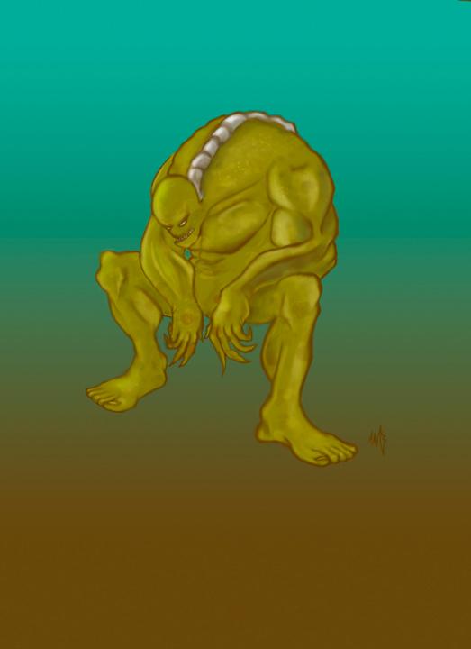 Zombie concept art #4