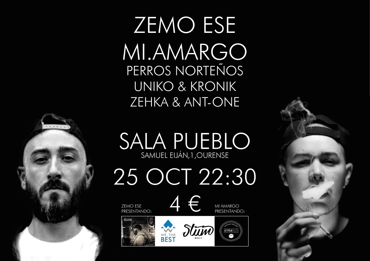 Poster for Rap Concert