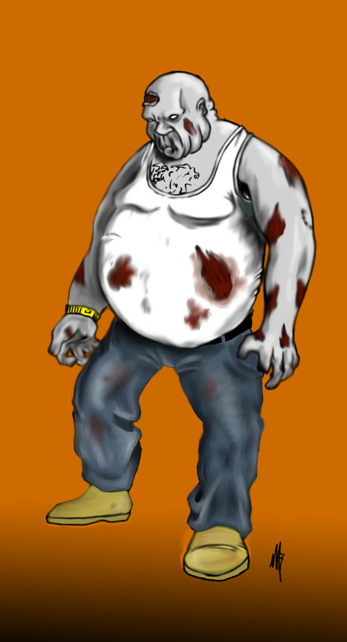 Zombie Concept art #2