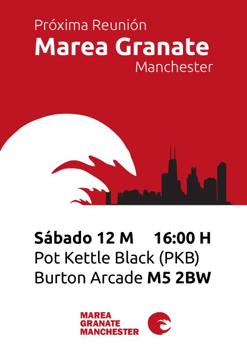 Poster for Marea Granate Manchester