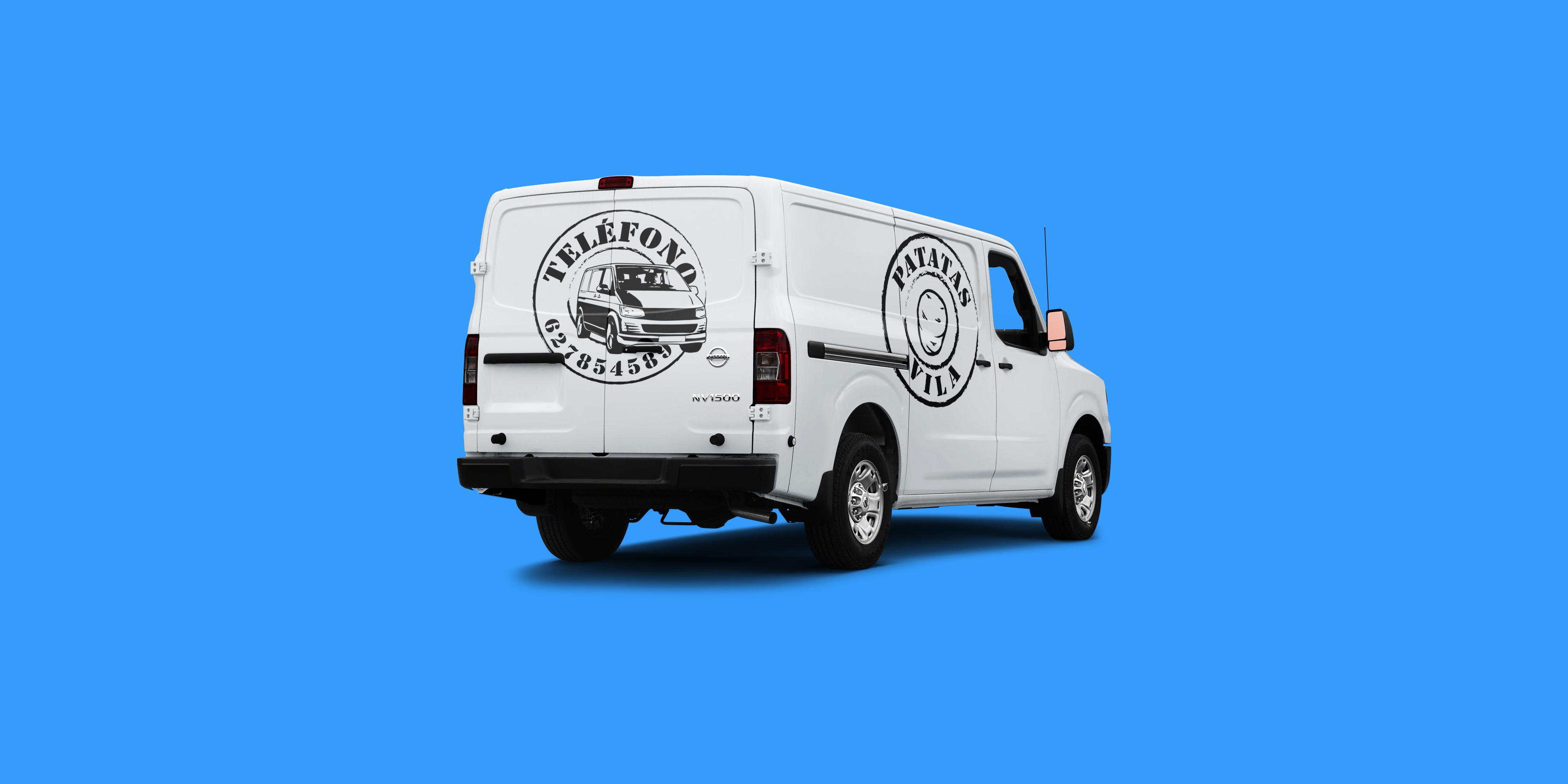 Company's Van.