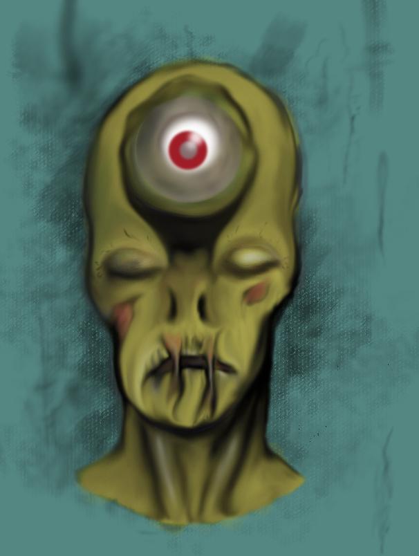 Zombie Concept art #3
