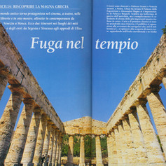 Fuga nel tempio, Sicily, Italy Dove Francesco Ruggeri  fotografo, Catania, Italy