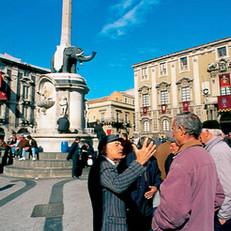 Piazza Duomo, Catania, Sicilia, Italy New York Times Francesco Ruggeri  fotografo, Catania, Italy