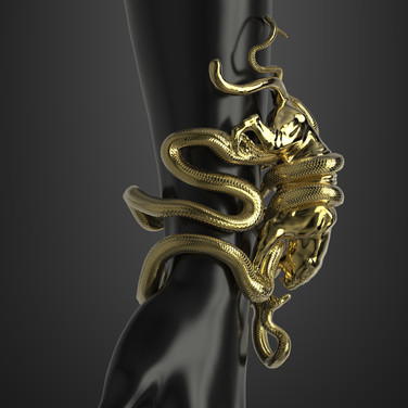 "UME 3D Art: ""Jaguar & Anaconda""."""
