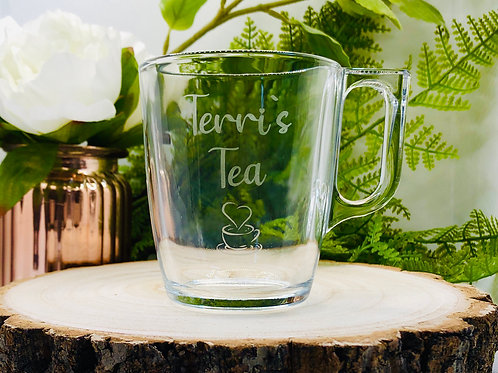 Heat Resistant Glass Mug