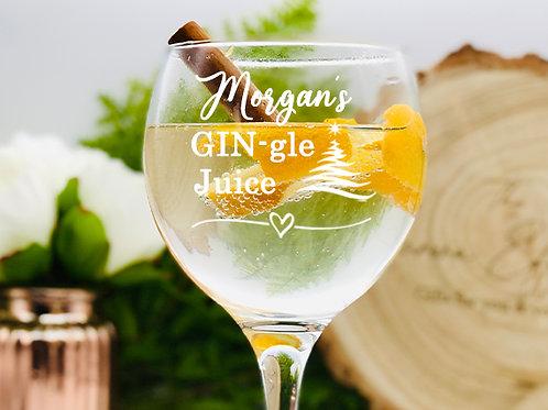 GINgle Juice Gin Glass