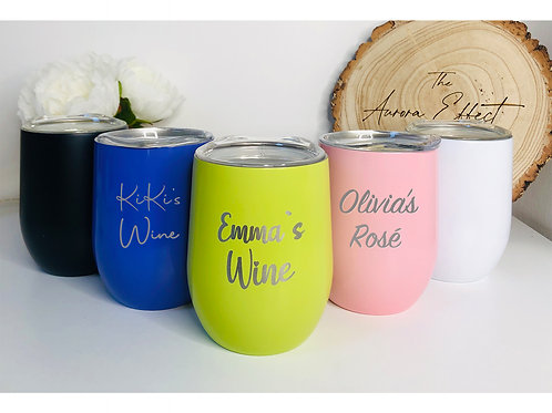 Personalised Wine Tumbler/Wine Cooler