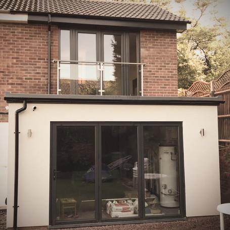 completed side extension in Bromsgrove | RTG Builders Bromsgrove